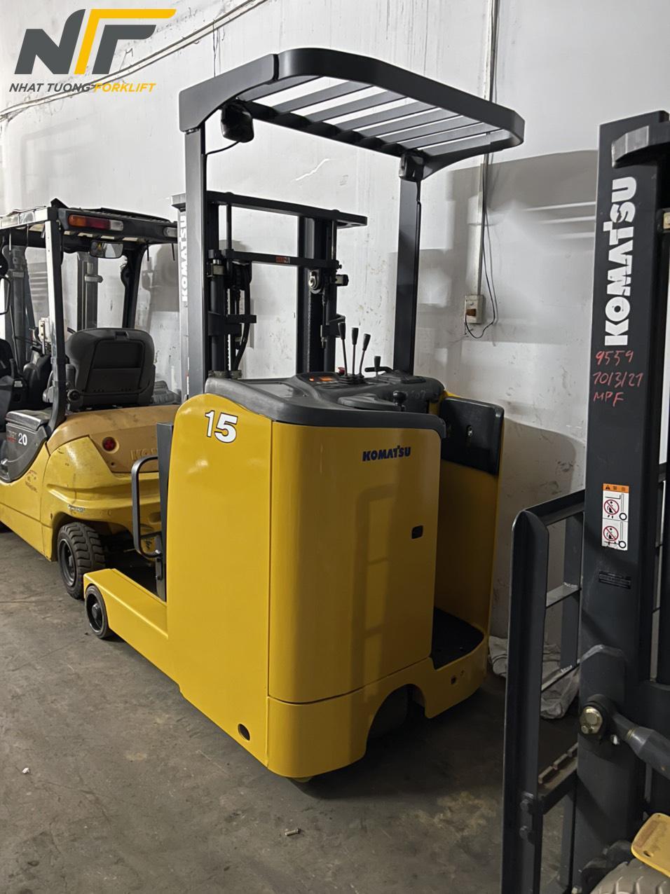 xe nâng điện đứng lái 1,5 tấn Komatsu FB15RL-15-152990