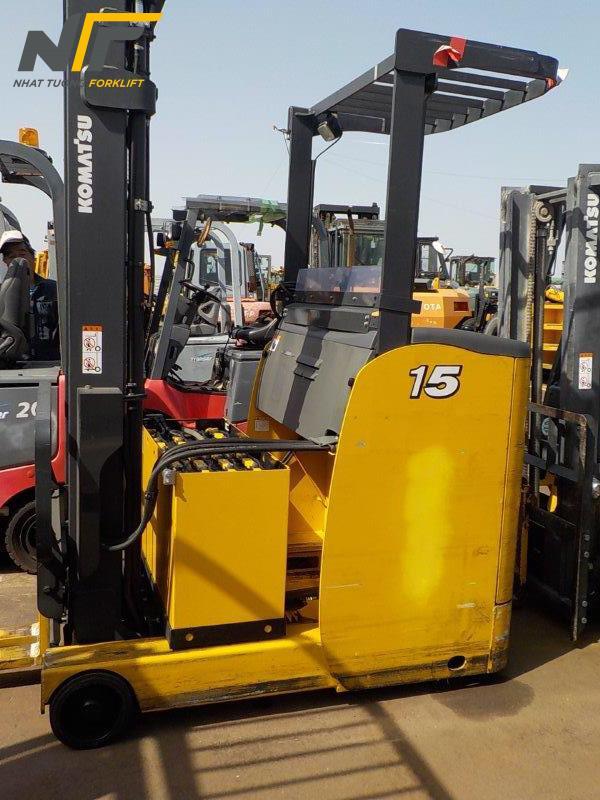 Xe nâng điện đứng lái 1,5 tấn KOMATSU FB15RL-15-NT20164M