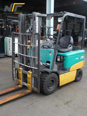 Xe nâng điện ngồi lái 2 tấn KOMATSU FB20EX-11-NT01